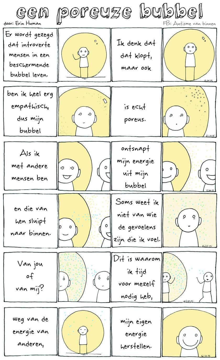 overlap introvert